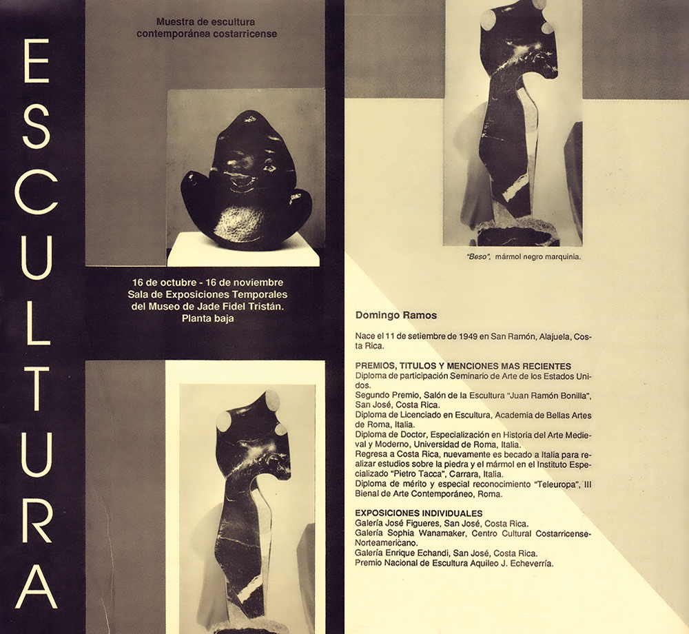 muestra escultura contemporanea costarricense