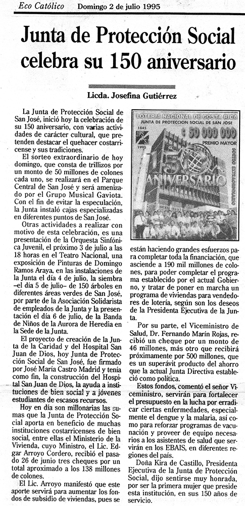 JPS celebra su 150 aniversario