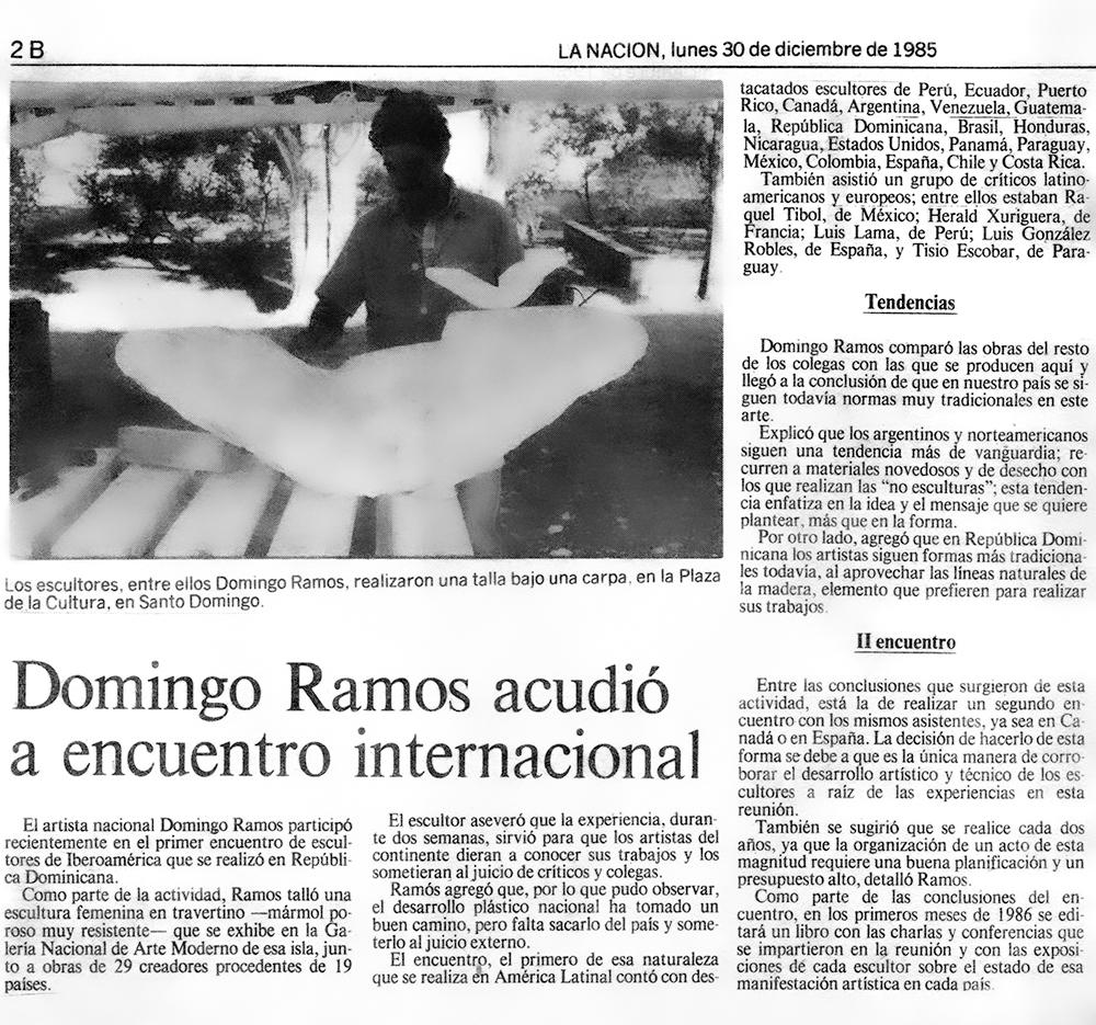Domingo Ramos acudió a encuentro internacional