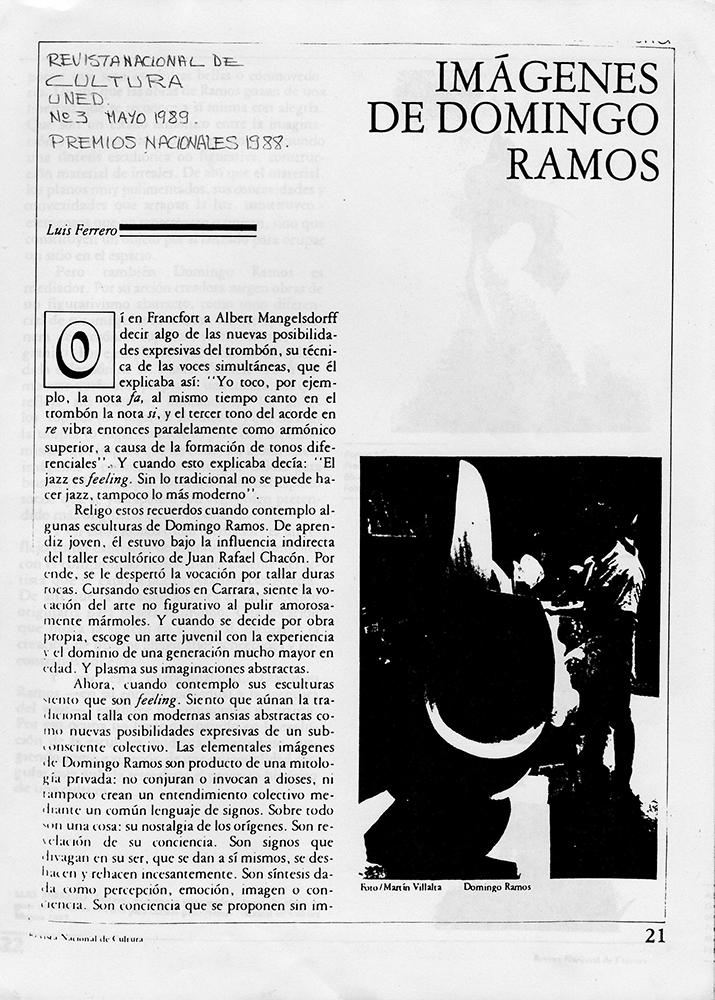 Imágenes de Domingo Ramos
